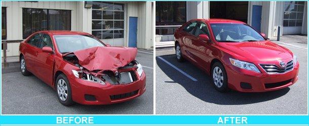auto collision repairs